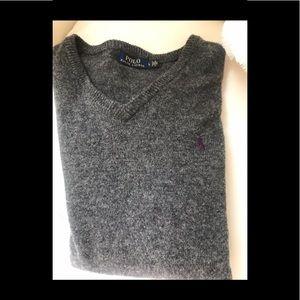 MENS POLO by Lauren, Wool, NEW, ,Sz L Sweater!!